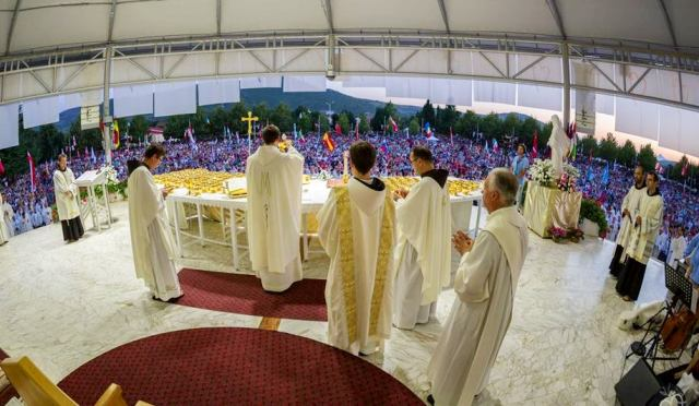 sv. misa medjugorjee