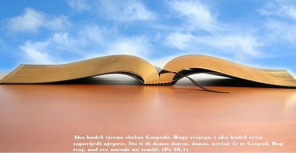 biblija zapovjedi