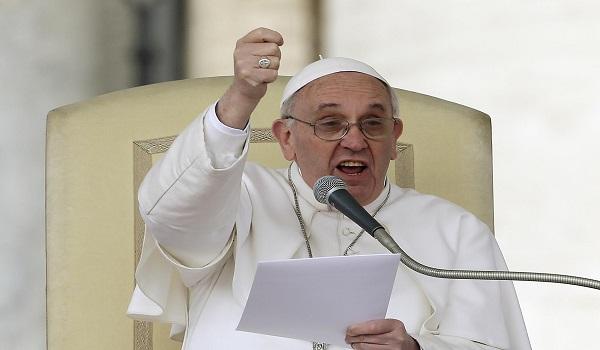 Papa franjo naglasava