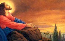 Isusov pogled u nebo-